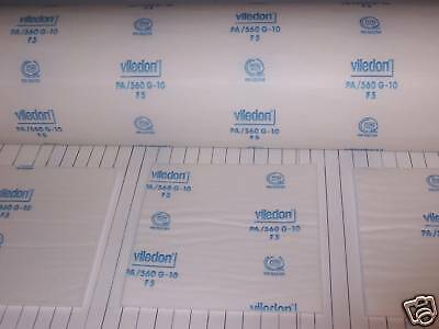 "Viledon PA//560 G10 Ceiling Filters for Spray Paint Booth 8-63/"" x 76/"" filters"