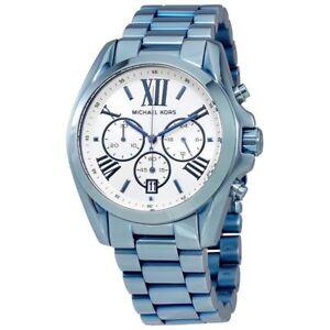 49d62c01f1 Michael Kors Bradshaw Chronograph Silver Dial Women s Watch MK6488 ...