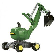 Rolly Toys John Deere Bagger Kinderbagger Sandbagger grün
