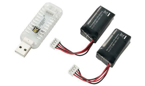 Lipo Batteries and Charger Set (For RC EYE One)