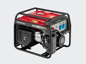 Gruppo elettrogeno generatore di corrente honda eg 5500 5 for Generatore di corrente honda usato