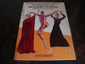 Modern Dance---Paper Dolls---Dover---1983---Uncut---9x12---By Tom Tierney