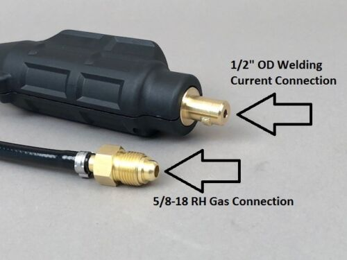 12 1//2/' WP-9 Swivel Head Tig Torch Miller Dynasty 200 Made in USA!