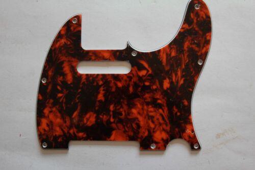 Pickguard Tele Telly TE-310-MO 8 Loch marmor orange mable  orange