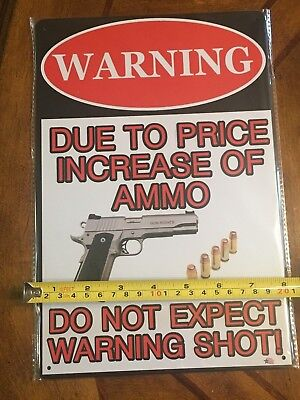 "4/"" 458 SOCOM Ammo Decals ATTENTION Funny Warning Stickers Set of 3 Decals"