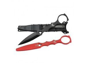 Benchmade-SOCP-Dagger-176-Combo-with-Black-Sheath-and-Trainer