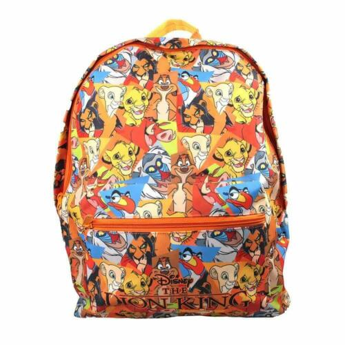 LION KING ROXY BACKPACK SCHOOL COLLEGE RETRO NEW OFFICIAL MERCHANDISE
