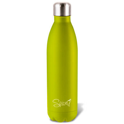 SPICE 2 x Bottiglia Borraccia Thermos Doppia Parete in Acciaio Inox 750 500 ml