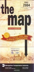 Subway Map 6.Details About Mta New York City Subway Centennial Map 6 Historic Images Unused