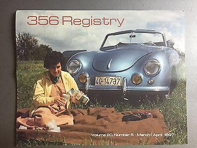 1990 Porsche 356 Registry Magazine Vol# 14 No March 1990 RARE Awesome 3 Feb