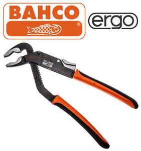 "Bahco Ergo 8224 250mm 10/"" Slip Joint Waterpump Pipe Nut Plier 45mm Capacity"