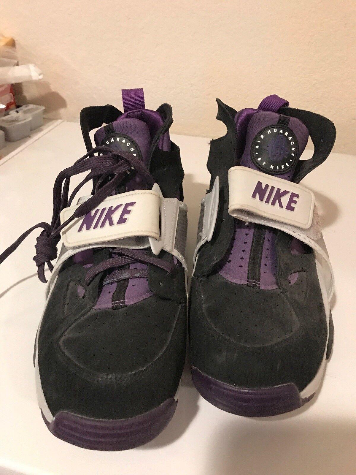 Nike Nike Nike Air Trainer Huarache Purple Black Ice Mens size 10 5f8584