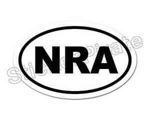 Oval-Car-Magnet-NRA-Magnetic-Bumper-Sticker