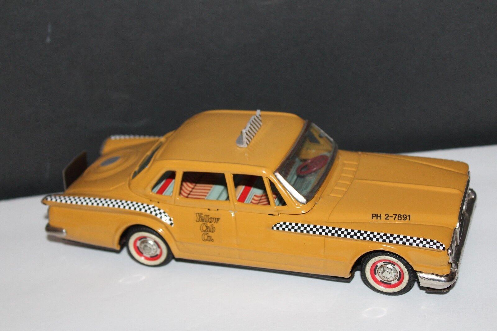 Muy Bonito Caja Metálica Fricción a Medida Yonezawa 1961 Plymouth Valiant
