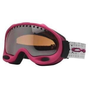 beef0d6863a Oakley 25-378 A FRAME Hot Pink w  Black Iridium Lens Womens Snow Ski ...