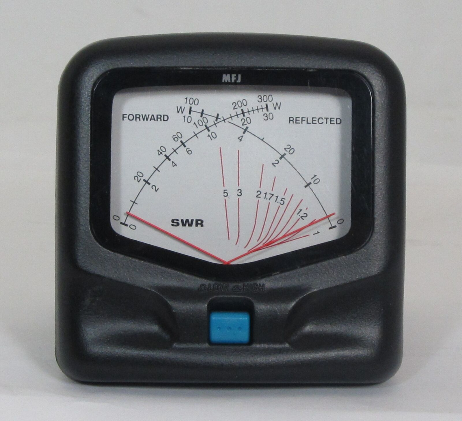 MFJ-822 HF/VHF 1.8-200Hz Compact 3 Cross-Needle SWR / WattMeter 30/300W. Available Now for 76.49