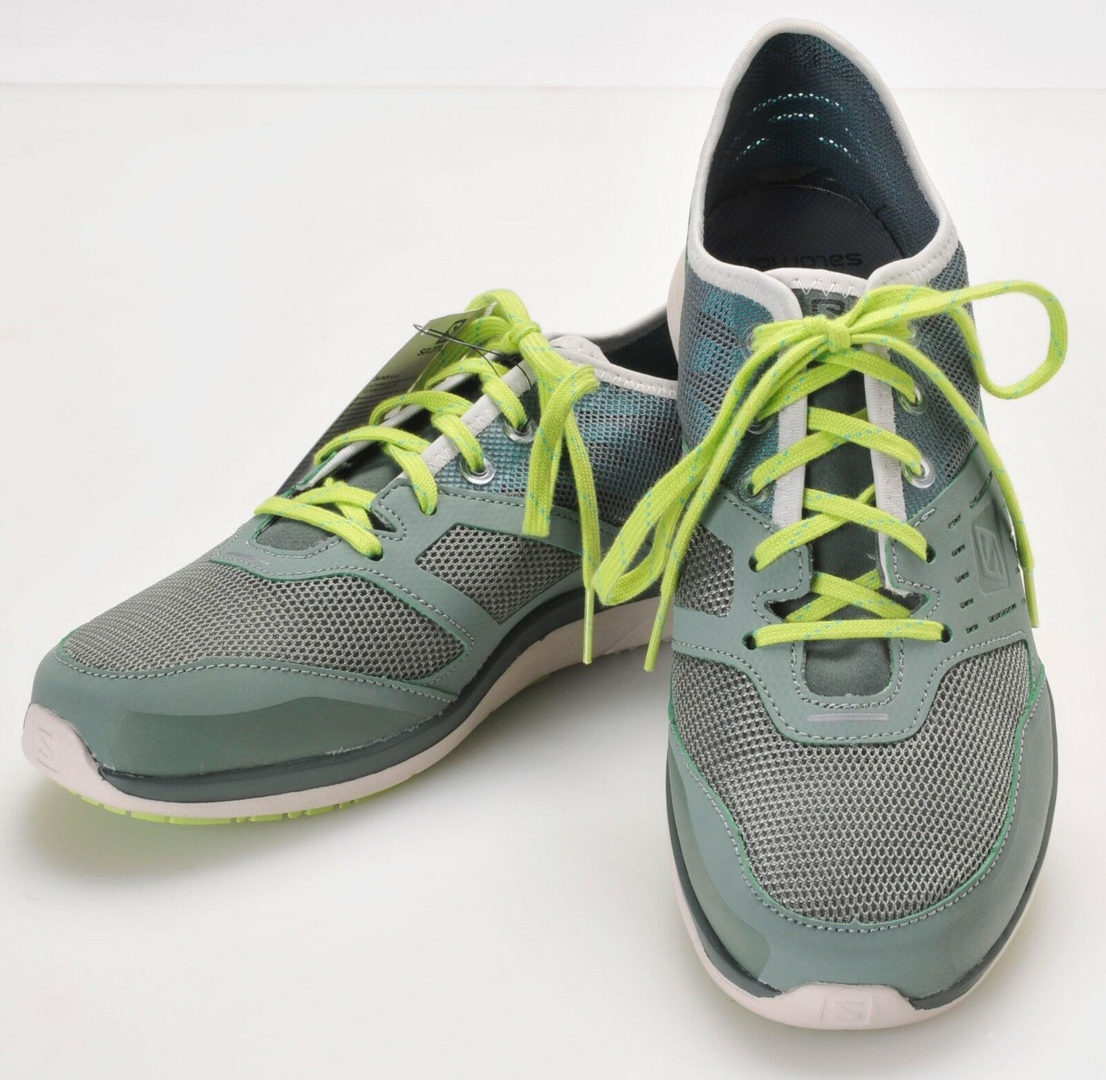 Salomon Cove W Light Athletic Shoes Women's 9 Moorea Green NEW w Tags Blue Green Moorea ae9405