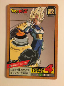 DRAGON BALL Z DBZ SUPER BATTLE PART 7 CARD REG CARTE 283 MADE IN JAPAN 1993 NM