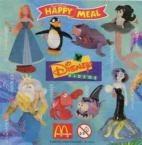 McDonald's McDonald's Happy Meal - 2000 pièces uniques Disney La Petite Sirène