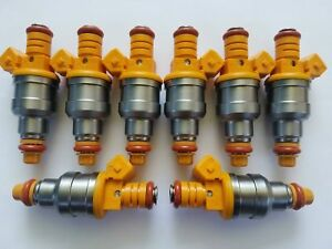 set for 96-02 Jeep 2.5L I4 4 OEM Bosch II 4-HOLE NOZZLE UPGRADE Fuel Injectors