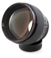 Canon FD 85mm F1.2 L Series. Ultra Fast manual Focus Prime Lens. FD Fit UK