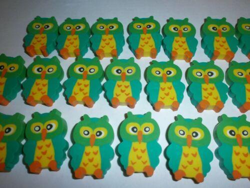 Radiergummi Eule Schule Eraser Owl Mitgebsel Kindergeburtstag Posten N 237