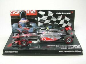 Mclaren Mercedes Mp4-26 N ° 4 J.button Gangant Canadienne Gp