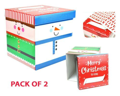 Christmas Eve Gift Boxes Treat Personalised Festive Design Present High Quality