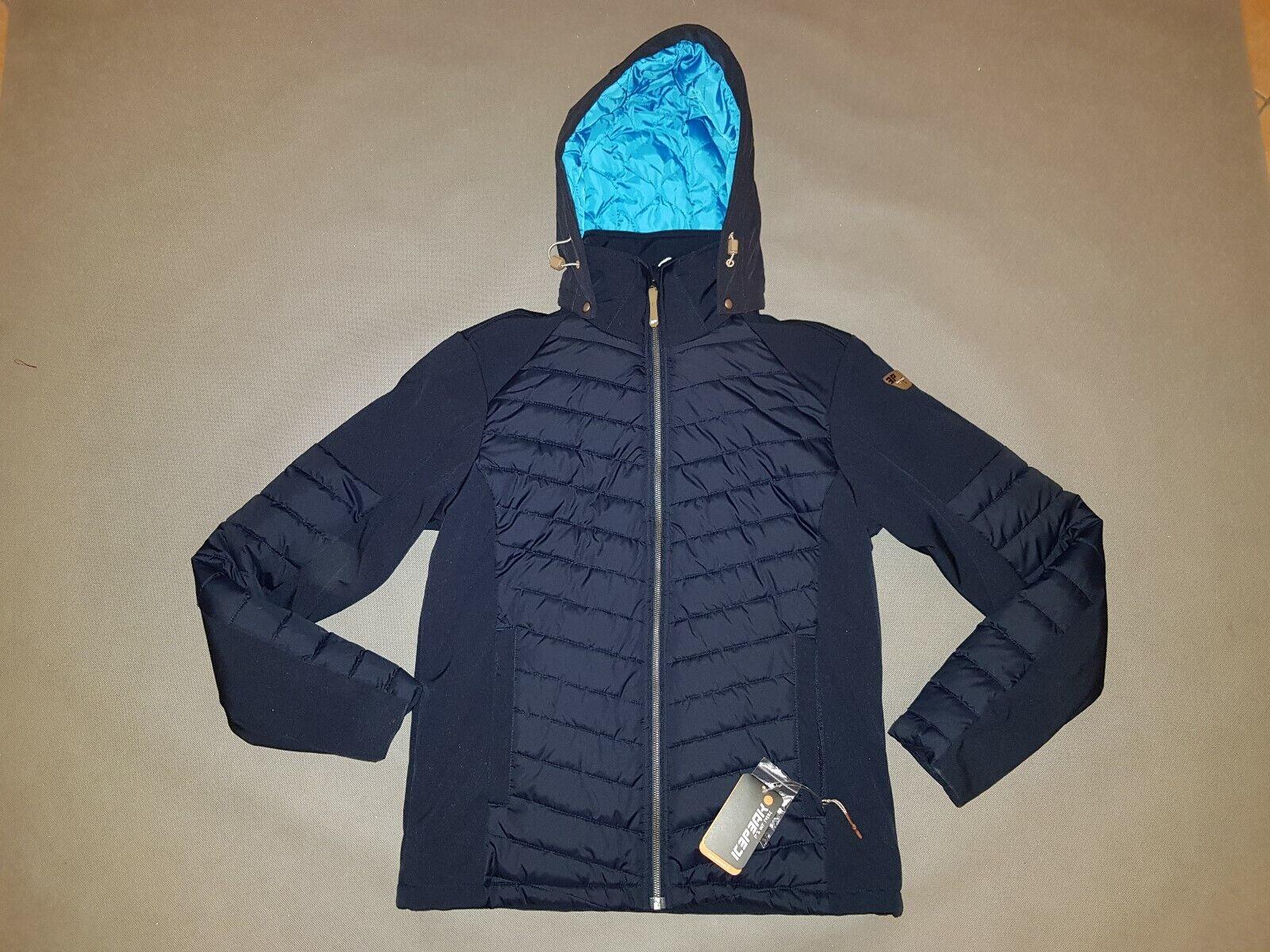 Icepeak Winterjacke TINO - Gr 54 - NEU - ArtNr 2 57 844 682 blau