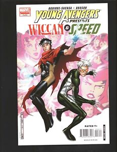 Young Avengers Presents #3 4 5 Wicca Speed Vision Stature Marvel M2