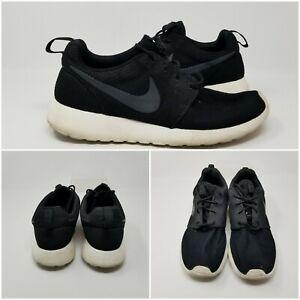 Nike-Roshe-One-Run-Black-White-Athletic-Running-Shoes-Sneakers-Mens-Size-9-5