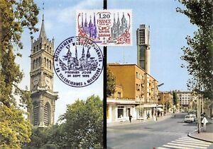 Carte-Maximum-FDC-France-VALENCIENNES-et-MAUBEUGE-Eglises-sept-1978-Maubeuge