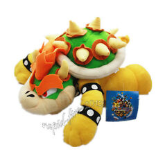 Super Mario Bros King Bowser Koopa Plush Stuffed Doll Toy 10 inch Xmas Gift