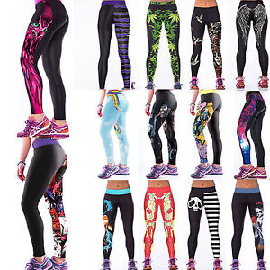 Femme Sport Yoga Running Leggings Pencil Pantalon Collant Taille ... 9b60d4307d5