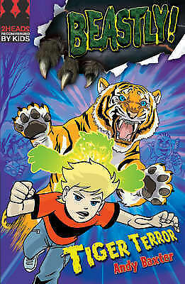 1 of 1 - Tiger Terror by Andy Baxter (Paperback) New Book