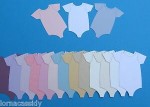 bottles 15x Mixed baby bundle blue cut outs vests cards baby shower grows
