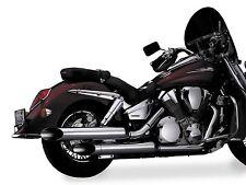NATIONAL CYCLE PEACEMAKERS EXHAUST HON VTX1800R/S/N Fits: Honda VTX1800T N41001
