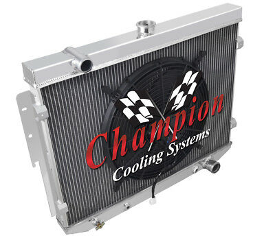 1984 85 86 87 88 89 90 Corvette//S10 V8 Conversion 3 Row Super Champion Radiator