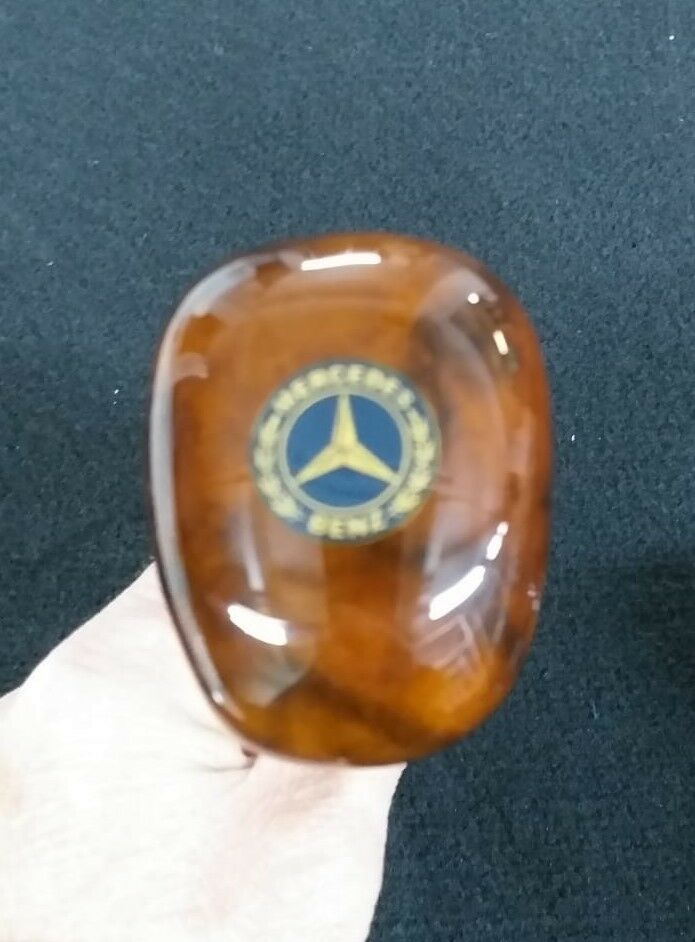 FOR MERCEDES-BENZ GEAR SHIFT KNOB ZEBRANO AUTOMATIC W126 COUPE S CLASS 81-1991