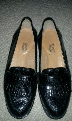ALLIGATOR WEHMEIER'S WNS loafers  black SHOES 6