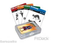 Fitdeck Superman 56 Boys Girls Kids Stretch Games Cards Exercise Playing 112