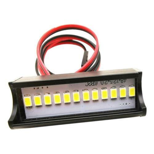 1pc 1//10 RC voiture courte LED Set 12 pièces d/'escalade de la voiture TRX4