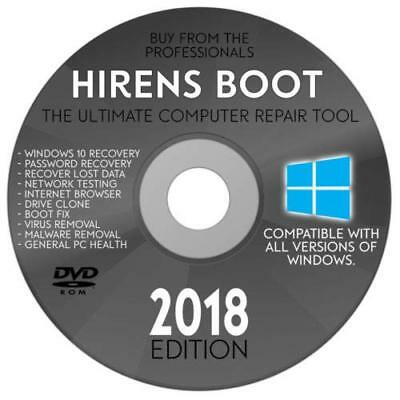 Recover & Repair Windows PC Laptop Computers Boot Disc for Win 10 8 7 Vista  XP | eBay