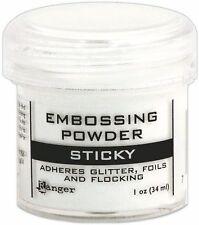 Ranger EMBOSSING POWDER Sticky 1oz 34ml ADHERES GLITTER FOILS FLOCK EPJ35275