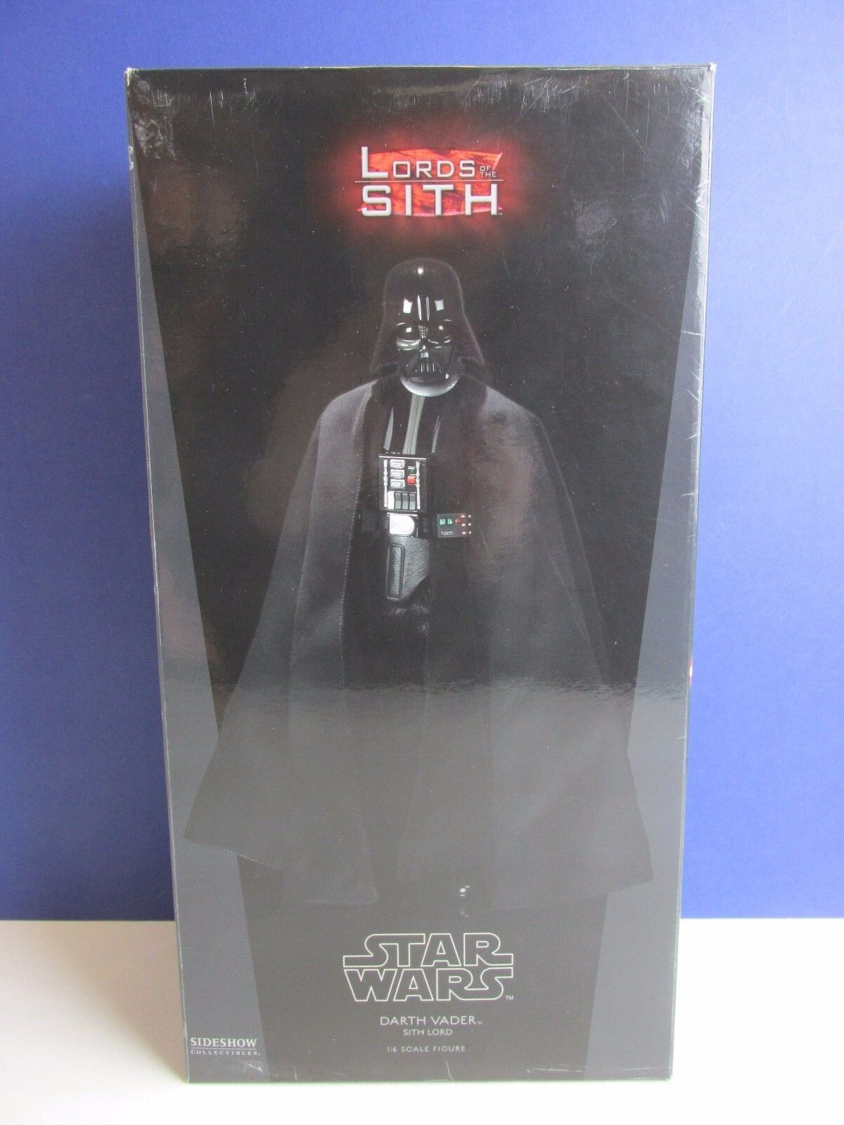 Star wars SIDESHOW DARTH VADER ACTION FIGURE 1 6 scale LORD OF THE SITH 2009