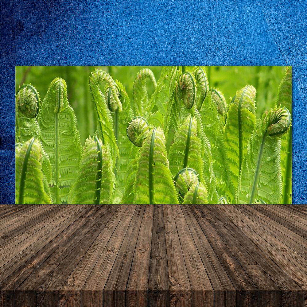 Crédence de cuisine en verre Panneau 120x60 Floral Plante