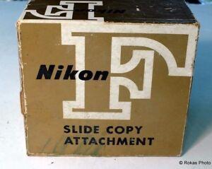 Nikon Copy Attachment F slide boxed mint