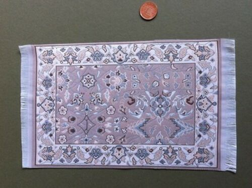 Dolls House Miniature 1.12th Scale Floor Accessory Large Pattern Rug 1