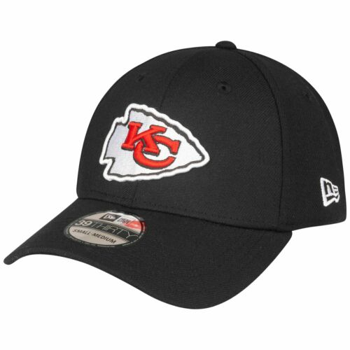 Kansas City Chiefs schwarz Details about  /New Era 39Thirty Stretch Cap