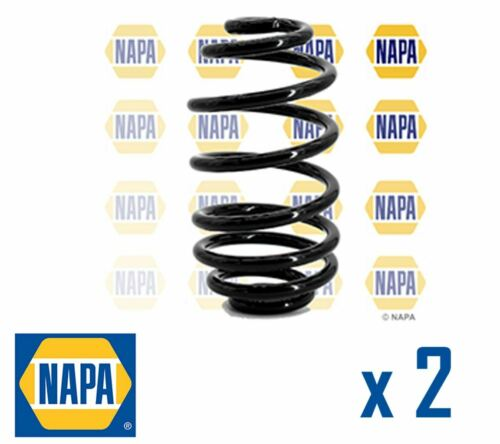 2 x NAPA REAR AXLE SUSPENSION COIL SPRING PAIR SET SPRINGS OE QUALITY NCS1029